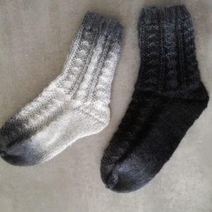 Strickanleitung Perlrara Socks von Kuschelfein Maschendesign