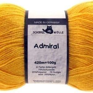 Schoppel Wolle Admiral 0580 Dottergelb
