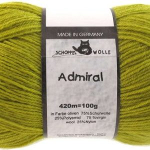 Schoppel Wolle Admiral 0383 Oliven