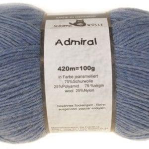 Schoppel Wolle Admiral 4653M Jeans-Meliert