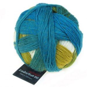 Schoppel Wolle Zauberball 100 Blaue Lagune