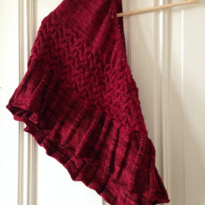 Strickanleitung Red Contemplation von Katrin Schubert