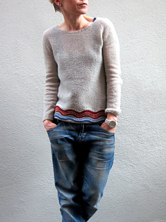 Strickanleitung the Berlinknits sweater von Isabell Kraemer