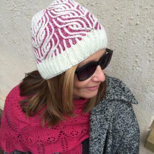 Strickanleitung Frost on Roses von Katrin Schubert