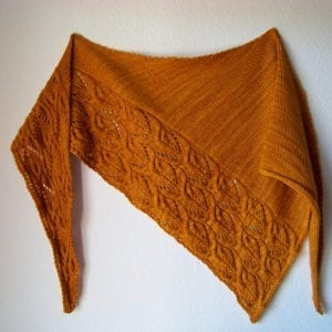 Strickanleitung The Sunflowers shawl von Melanie Mielinger