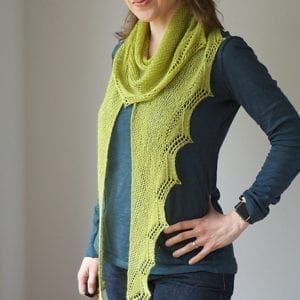 Strickanleitung Green Light Shawl von Martina Behm / strickmich
