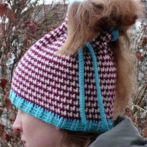 Häkelanleitung Up and Down Cowl Hat von Mareike Meyer / The Yarn Adventurer