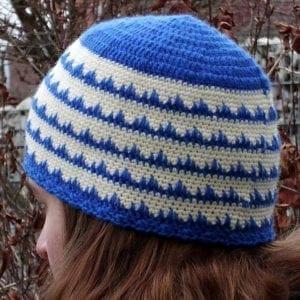 Häkelanleitung Ice Ferns Hat von Mareike Meyer / The Yarn Adventurer