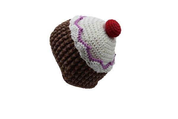 Häkelanleitung Cupcake Mütze von Christina Lemberger