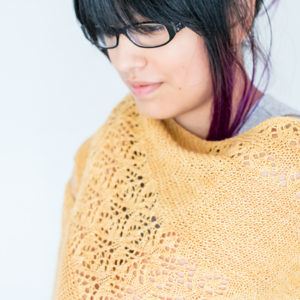 Strickanleitung Wheat Fields Shawl von Francoise Danoy / Aroha Knits