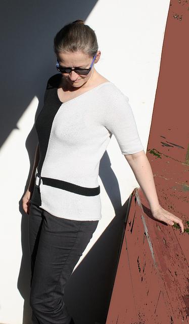 Strickanleitung Black & White von Astrid Schramm