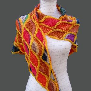 Strickanleitung Muscheln von Marianne Radeloff / Knitteltante