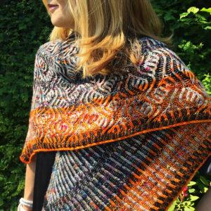 Strickanleitung Leaves And Stripes von Katrin Schubert