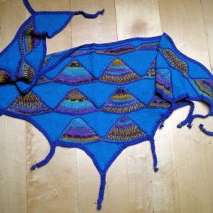 Strickanleitung Blue Curacao von Marianne Radeloff / Knitteltante
