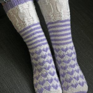 Strickanleitung Candy Socks - Große Schwester von Tanja Lüscher