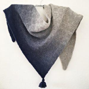 Strickanleitung November Blues von Birgit Wedemeier / Rinikäfer-Design