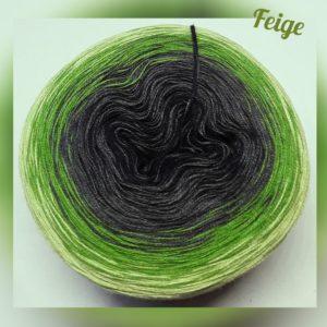 Wollcandy Feige - Farbverlaufswolle aus Baumwolle und Polyacryl