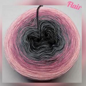 Wollcandy Flair - Farbverlaufswolle aus Baumwolle und Polyacryl