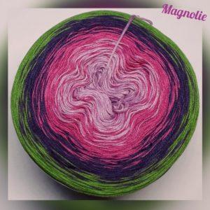 Wollcandy Magnolie - Farbverlaufswolle aus Baumwolle und Polyacryl