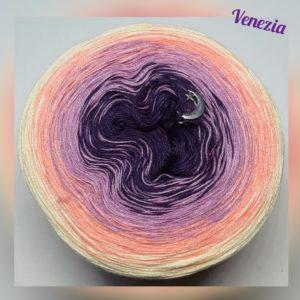 Wollcandy Venezia - Farbverlaufswolle aus Baumwolle und Polyacryl