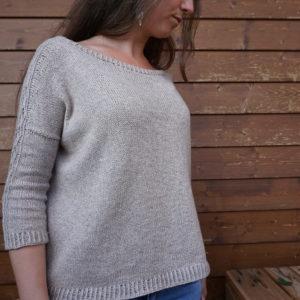 Strickanleitung Rambling Rose Sweater von Asita Krebs / sidispinnt