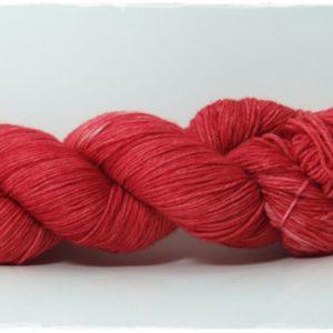 Oxblood Red Merino-Sockenwolle 4-fach