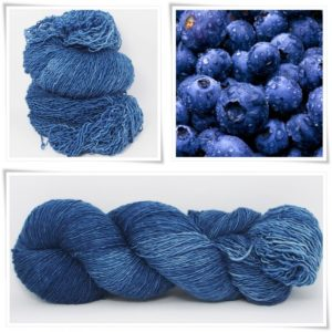 Blueberry Merino-Lace von Wollelfe