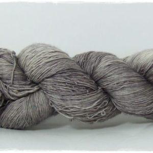 Brushed Steel Merino-Lace von Wollelfe
