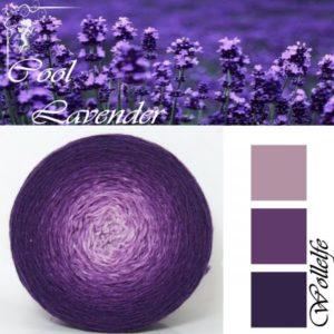 Cool Lavender - Merino Pure von Wollelfe