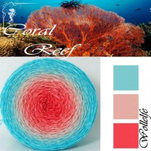 Coral Reef - Merino Pure von Wollelfe