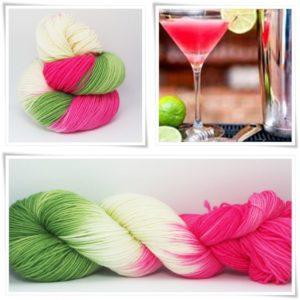 Cosmopolitan Merino-Sockenwolle 4-fach von Wollelfe