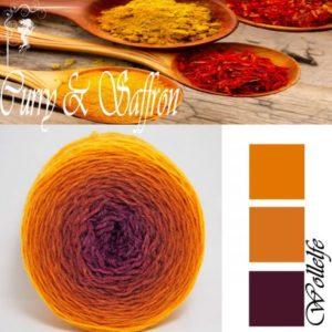 Curry Saffron - Merino Pure von Wollelfe