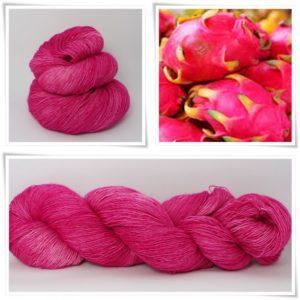 Dragonfruit Merino-Lace von Wollelfe