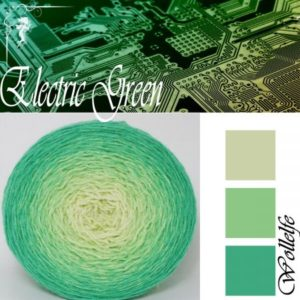 Electric Green - Merino Pure von Wollelfe