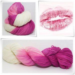 Heiße Liebe Merino-Sockenwolle 4-fach von Wollelfe