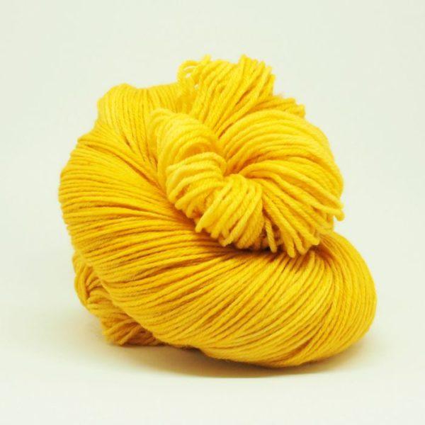 Honey Mustard Sockenwolle 4-fach von Wollelfe