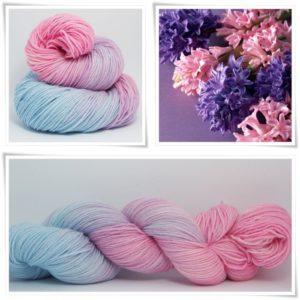 Hyacinth Merino-Sockenwolle 4-fach von Wollelfe