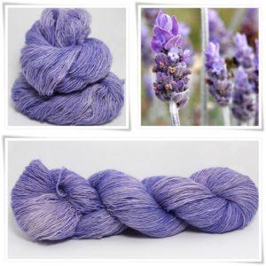 Lavender Merino-Lace von Wollelfe