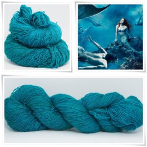 Mermaids Dream Merino-Lace von Wollelfe