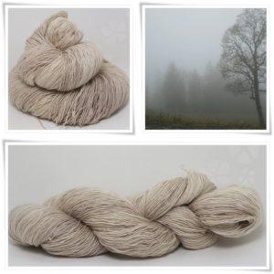 Mist Grey Merino-Lace von Wollelfe