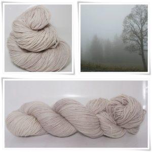 Mist Grey Sockenwolle 4-fach von Wollelfe