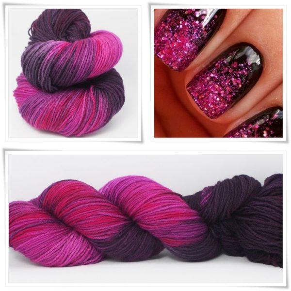 Pink Fashion Sockenwolle 4-fach von Wollelfe