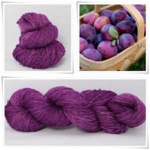Plum Merino-Lace von Wollelfe