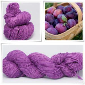 Plum Sockenwolle 4-fach von Wollelfe