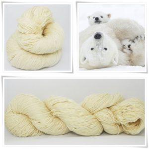 Polarbear Merino-Lace von Wollelfe