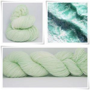 Seafoam Sockenwolle 4-fach von Wollelfe