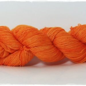 Soft Orange Merino-Lace von Wollelfe