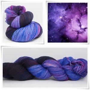 Space Man Sockenwolle 4-fach von Wollelfe