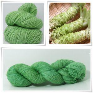 Wasabi Sockenwolle 4-fach von Wollelfe