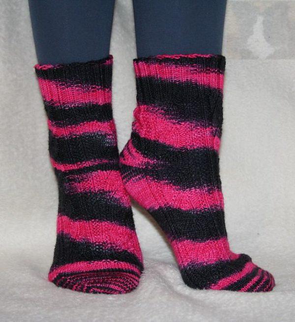 Punk Sockenwolle 4-fach von Wollelfe